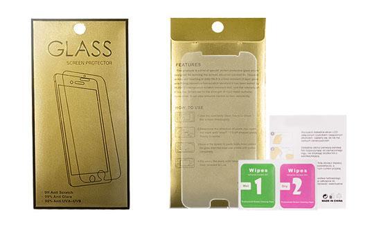 Tempered Glass Gold Aizsargstikls Apple iPhone 11 aizsardzība ekrānam mobilajiem telefoniem