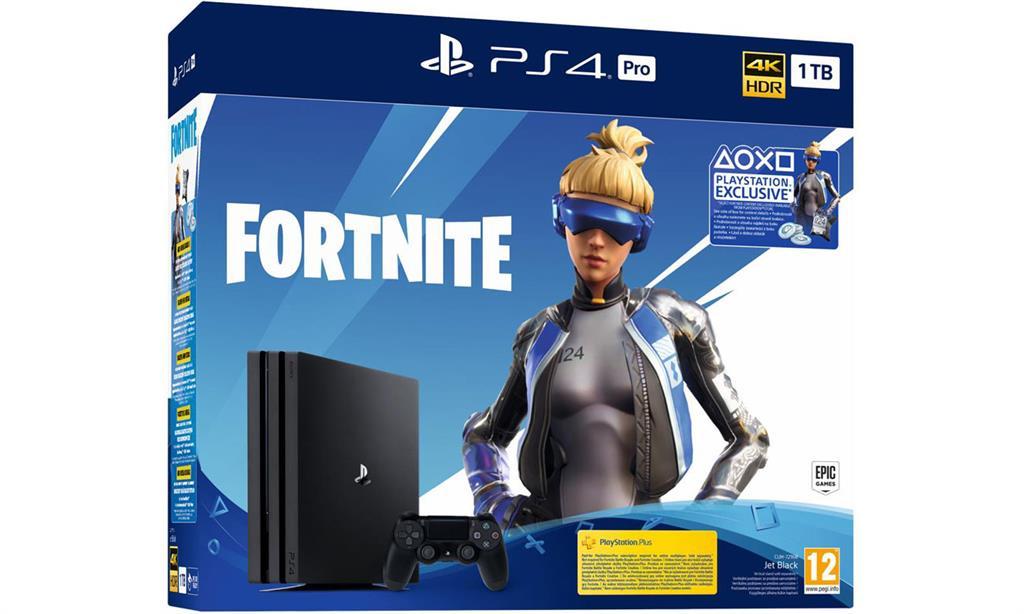 Sony PlayStation 4 Pro 1 TB + Fortnite spēļu konsole
