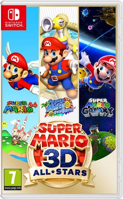 Nintendo Super Mario 3D All Stars spēle