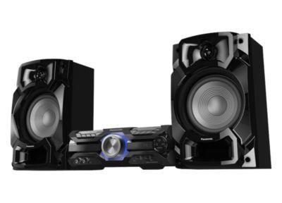 Panasonic Stereo System SC-AKX520E-K Bluetooth, CD player, Wireless connection, AUX in, FM radio 5025232889082 radio, radiopulksteņi