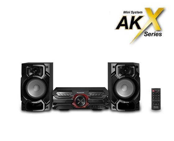 Panasonic SC-AKX320E-K mūzikas centrs