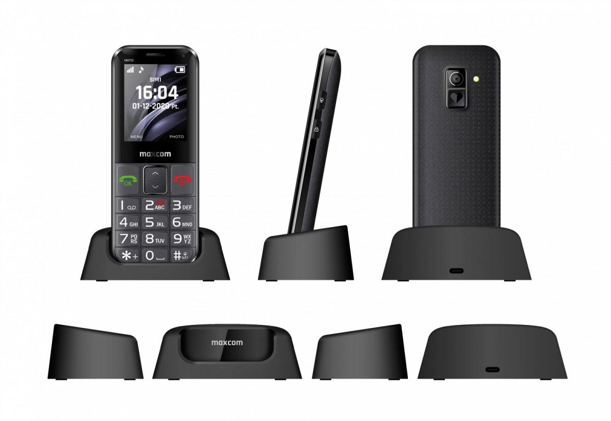 GSM Phone MM 730BB Comfort MAXCOMMM730BB Mobilais Telefons