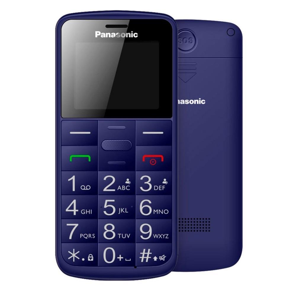 Panasonic KX-TU110 Easy Use Mobile Phone, Blue Mobilais Telefons