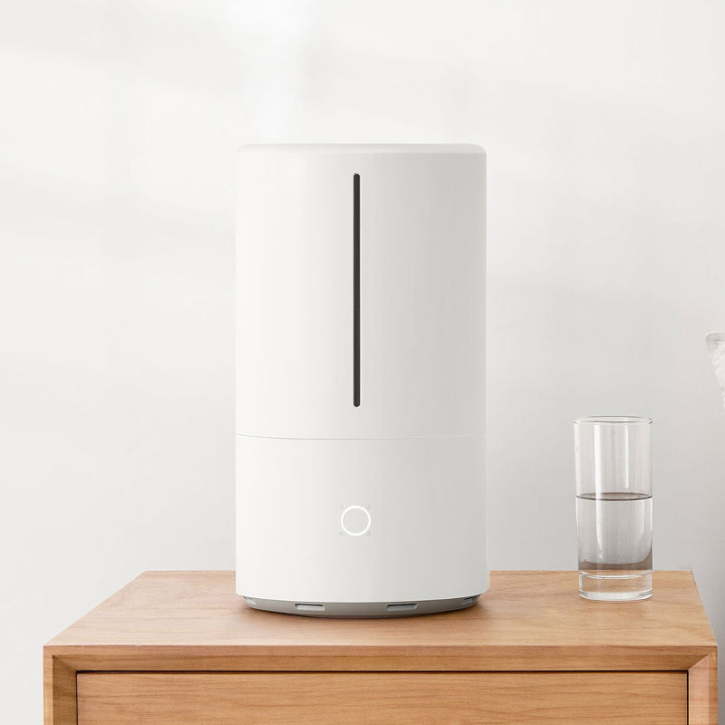 Xiaomi Mi Smart Antibacterial Humidifier SKV4140GL 25 W, Water tank capacity 4.5 L, Humidification capacity 300 ml/hr, White Klimata iekārta
