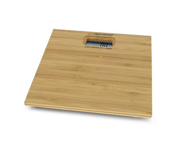 ESPERANZA EBS012 Bathroom Scales  - BAMBOO Svari