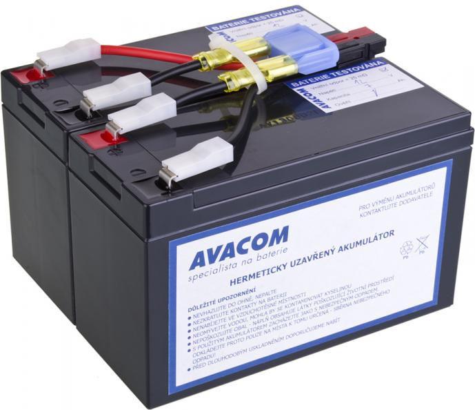 Avacom Bateria for APC UPS RBC48 (AVA-RBC48) UPS aksesuāri