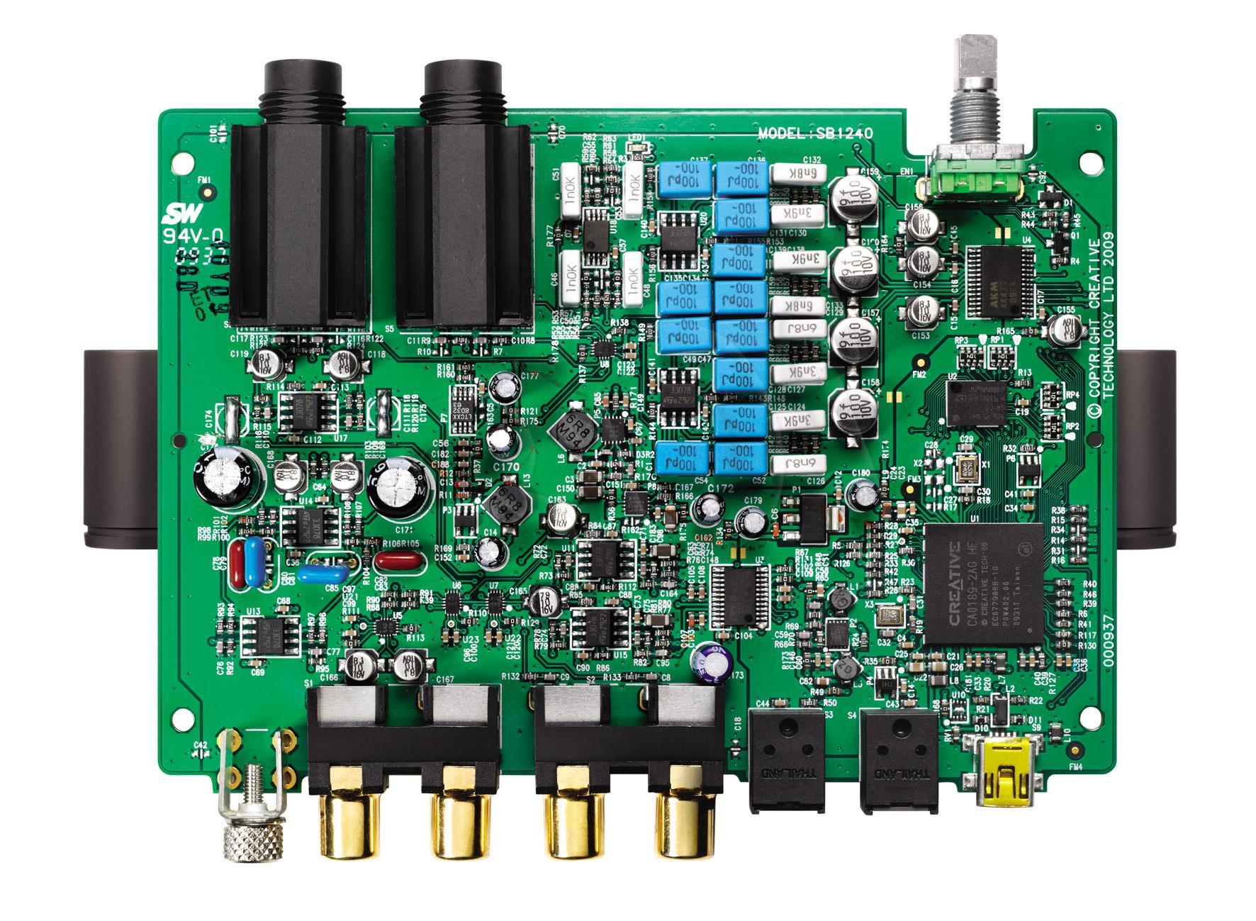 Creative SoundBlaster X-Fi HD 70SB124000005 skaņas karte