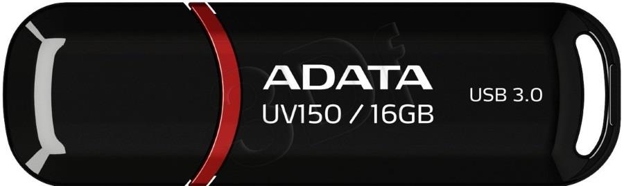 A-DATA UV150 16GB USB3.0 Stick Black USB Flash atmiņa