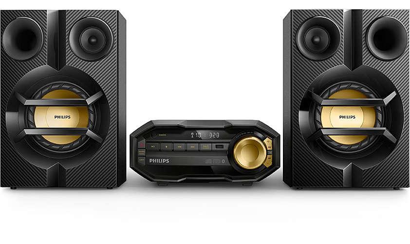 Philips Mini Hi-Fi System FX10 Bluetooth mūzikas centrs