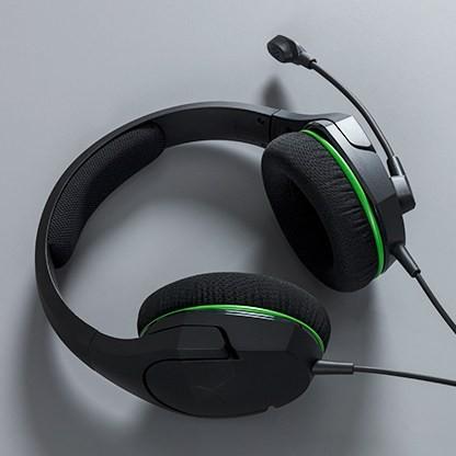 HyperX CloudX Stinger Core, Headset(black / green, jack) austiņas
