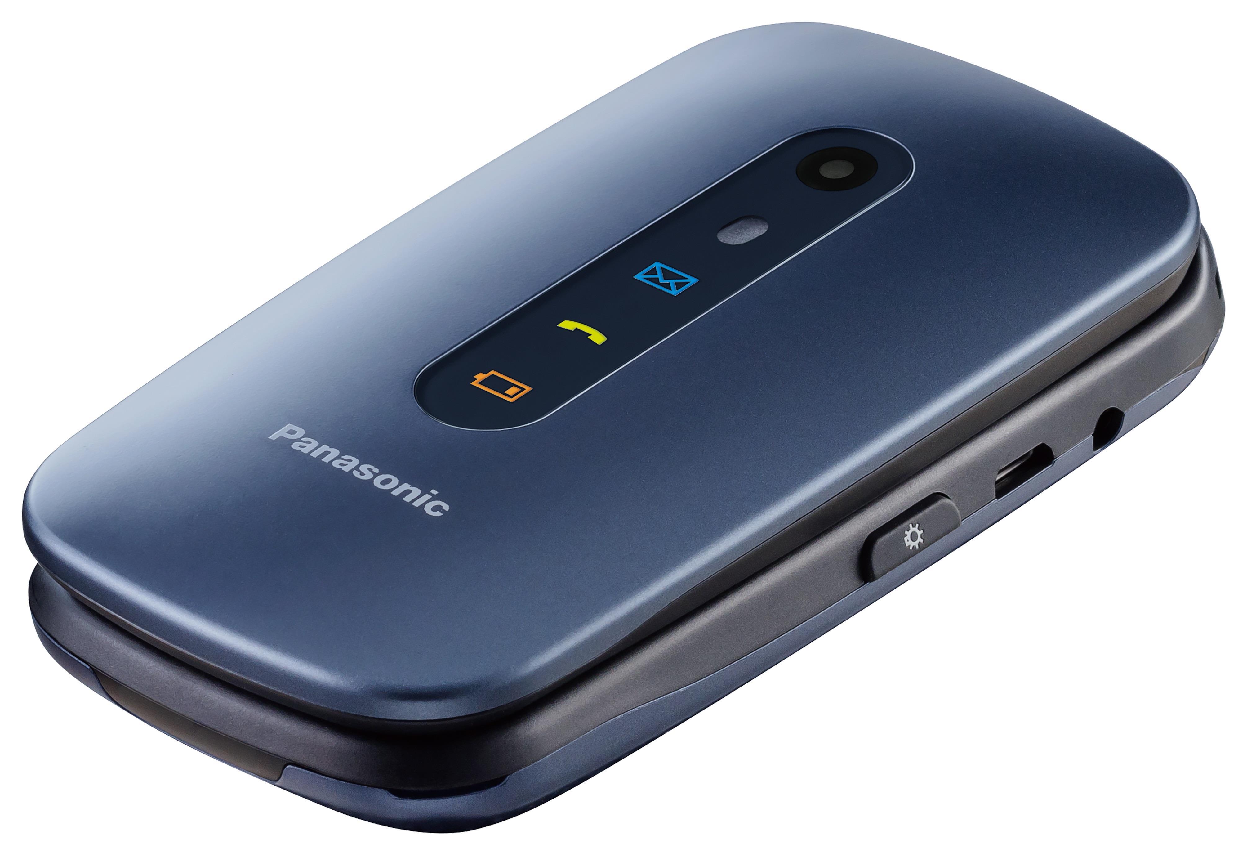 Panasonic KX-TU456 blue Mobilais Telefons