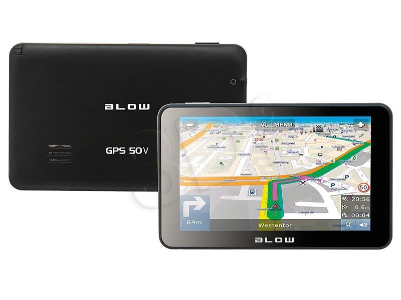 Blow GPS50V EUROPA Navigācijas iekārta