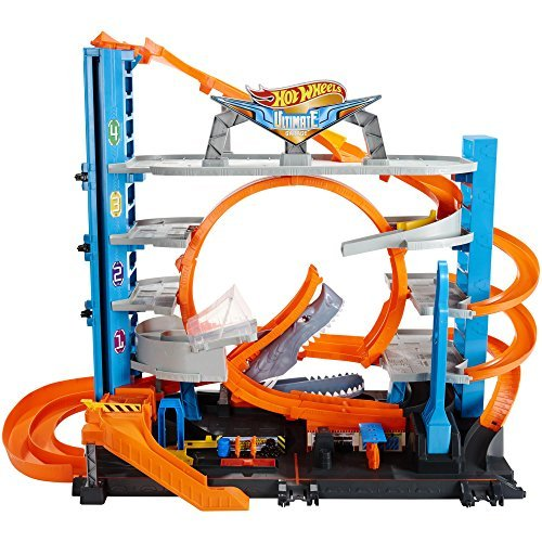 HotWheels Ultimate garage with shark attack