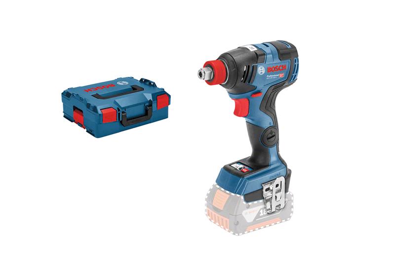 Bosch GDX 18V-200 C  with L-BOXX Cordless Impact Driver (bez akumulatora un lādētāja)
