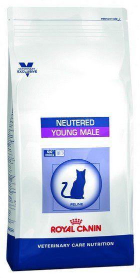 Royal Canin Veterinary Care Nutrition Neutered Young Male 3.5kg kaķu barība