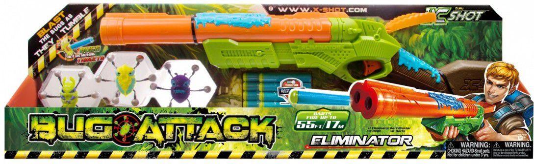 X-SHOT Bug Attack Eliminator Rotaļu ieroči