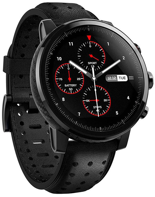 Amazfit Stratos 2S Black 6970100371246 Viedais pulkstenis, smartwatch