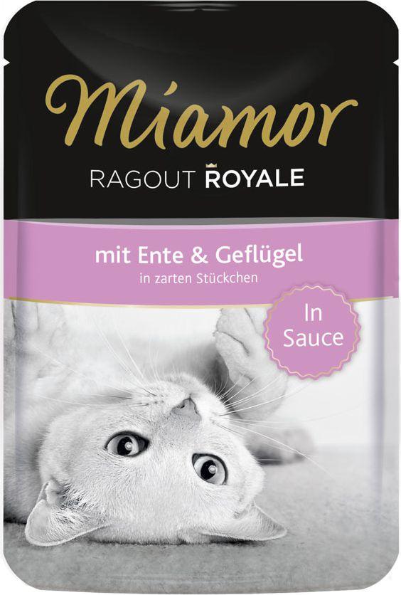 FINNERN Miamor Ragout Royale saszetka Kaczka i kura w sosie - 100g 74072 kaķu barība
