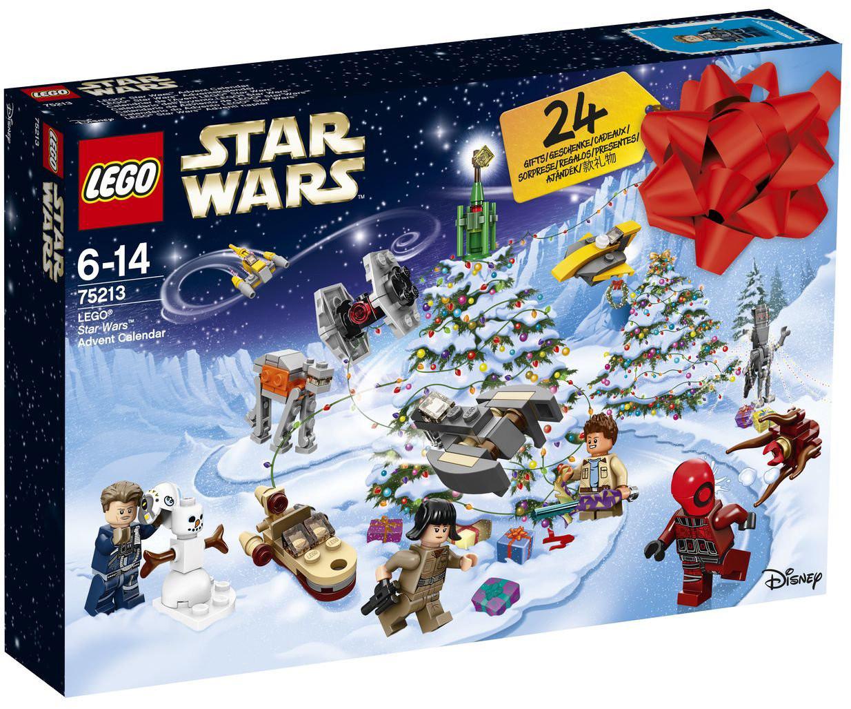 LEGO Star Wars adventes kalendārs (75213) 5702016112078 LEGO konstruktors