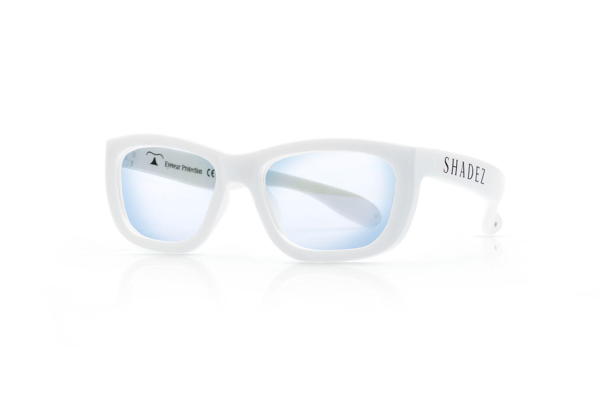 SHADEZ Blue Light White Teeny bērnu brilles digitālajām ierīcēm, 3-7 gadi SHZ 104 saulesbrilles