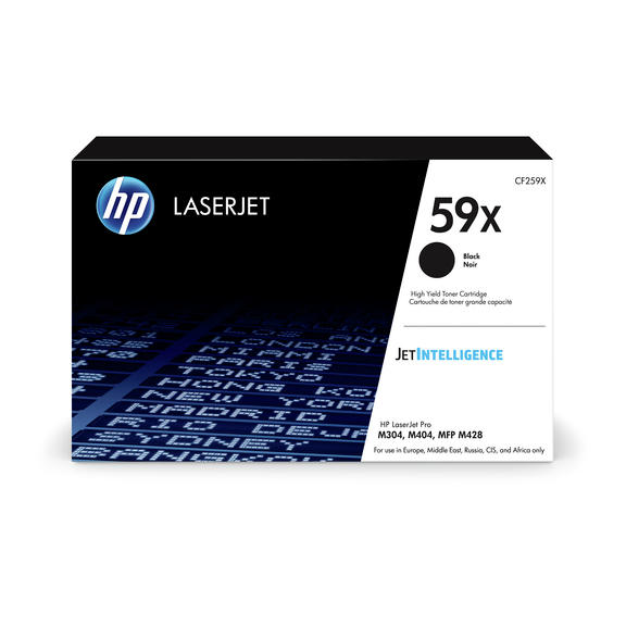 HP 59X Black LaserJet Toner Cartridge toneris