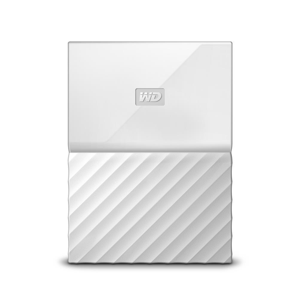 WD My Passport 2TB portable White Thin Ārējais cietais disks