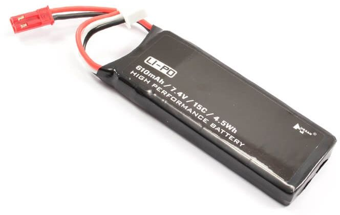 HUBSAN LiPo 610mAh battery for H502E / S (H502-16)