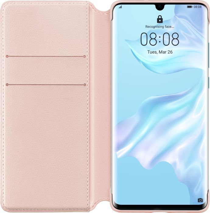 Huawei Wallet Cover do P30 Pro rozowy