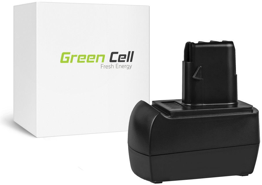 Green Cell Power Tool Battery Metabo BST12 IMPULS 12V 3Ah