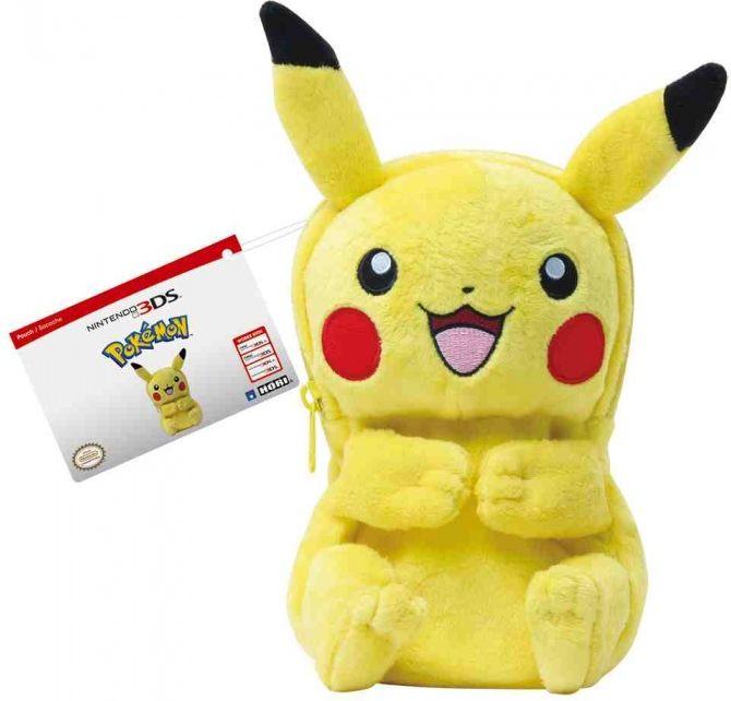 HORI Etui na konsole Pikachu (3DS-509U) 3DS-509U spēļu aksesuārs