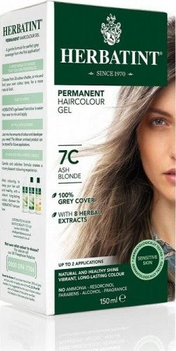 Herbatint Natural long-lasting hair color - C - Ash series 7C - Ash blonde