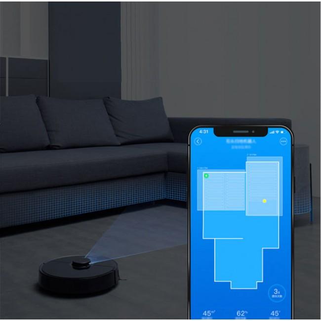 Xiaomi Mijia Roborock S5 Gen 2 Black (S552-00) robots putekļsūcējs