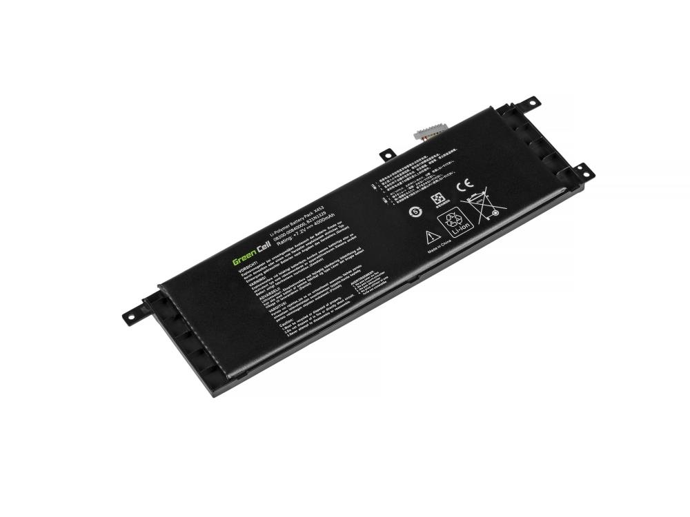 Green Cell Laptop Battery for Asus X553 X553M X553MA F553 F553M F553MA akumulators, baterija portatīvajiem datoriem