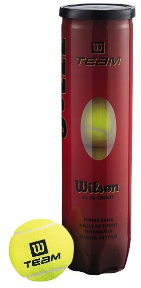 WILSON TEAM PRACTICE TENISA BUMBAS ( 4 BUMBU TUBS )