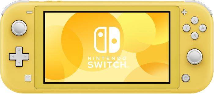 Nintendo Switch Lite yellow spēļu konsole