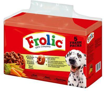 MARS POLSKA Frolic Pies Wolowina 7.5kg barība suņiem
