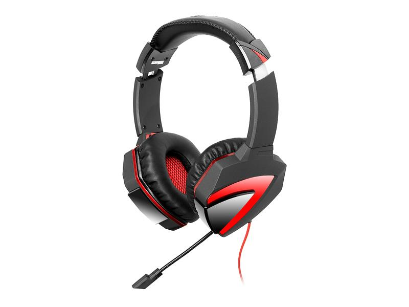 A4Tech Bloody Combat Gaming Headset G500 (Black/Red) austiņas