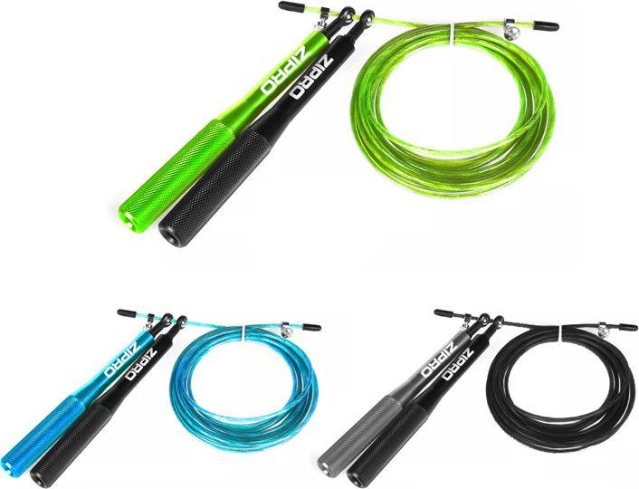 Zipro Skipping rope metal blue