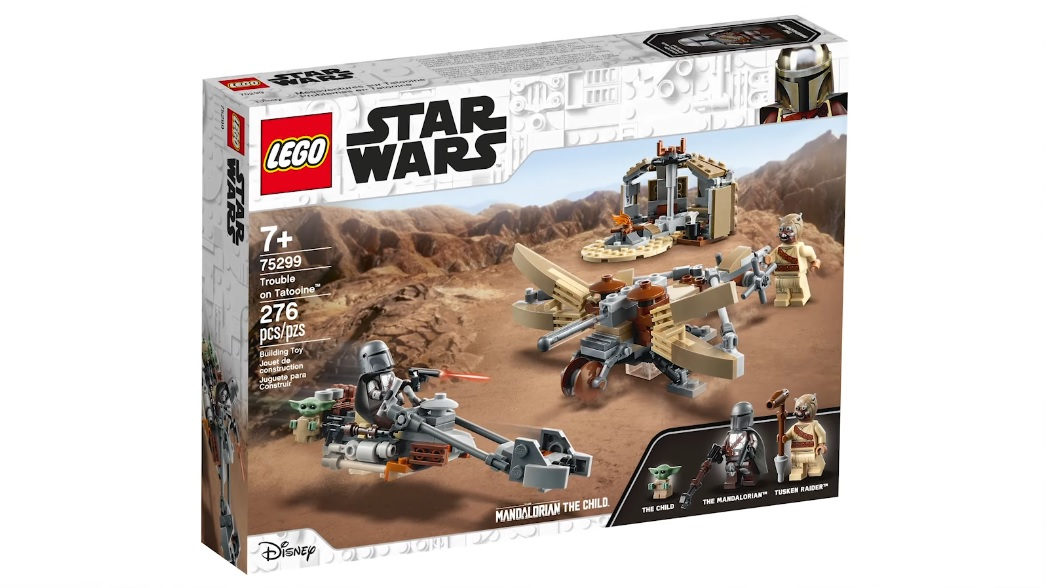 LEGO Star Wars: The Mandalorian Trouble On Tatooine 75299 LEGO konstruktors