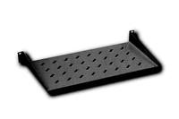 Digitus DN-19 TRAY-1-SW 1U rack mount fixed shelf vented. black RAL 9005. aksesuārs datorkorpusiem