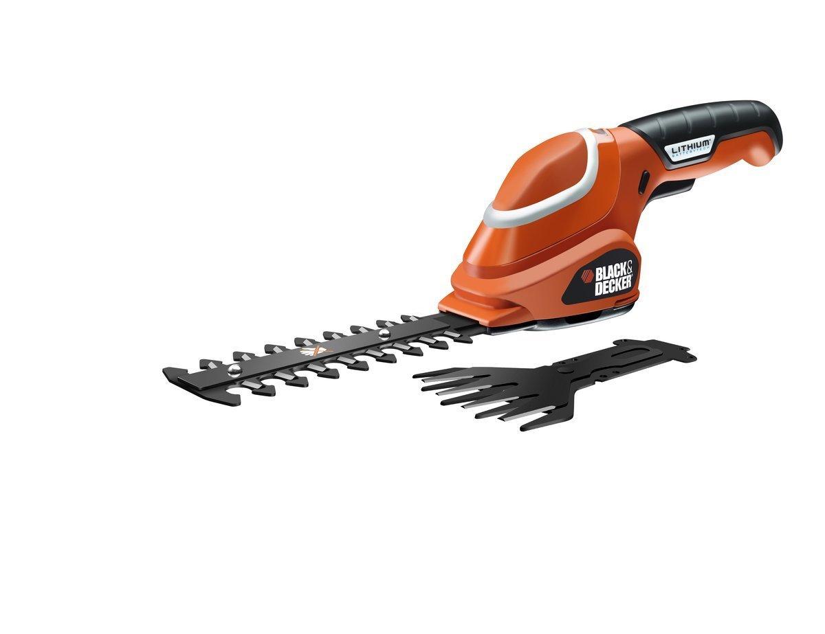 Black&Decker Cordless Shears GSL700 7V orange