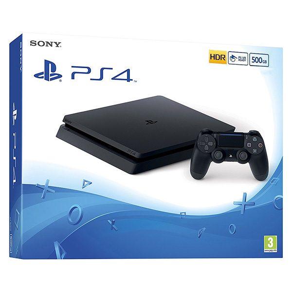 Sony playstation 4 PS4 Slim black 500GB CUH-2216A spēļu konsole