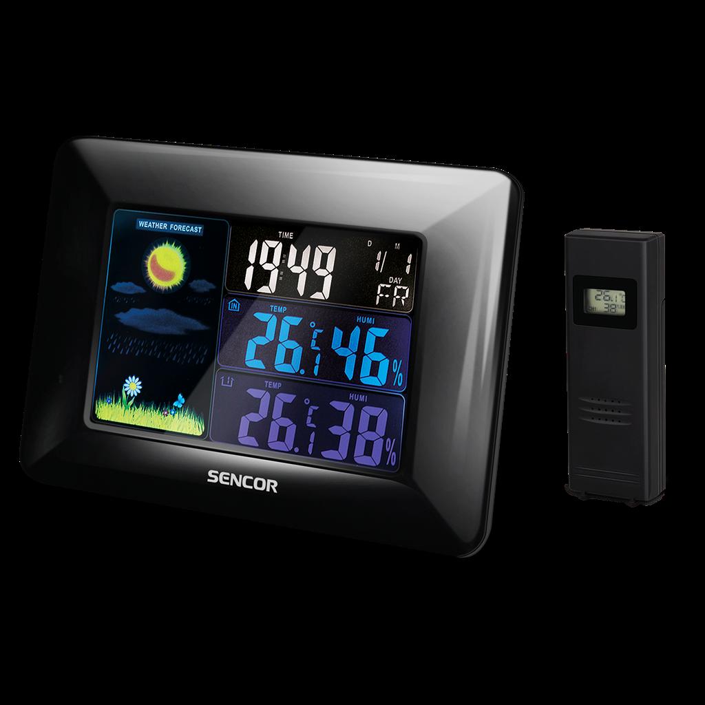 SENCOR SWS 4250 Meteoroloģiskā stacija barometrs, termometrs