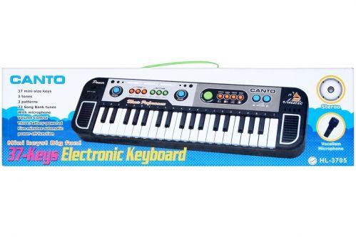 Mega Creative Organy z mikrofonem (HL 3708) HL 3708