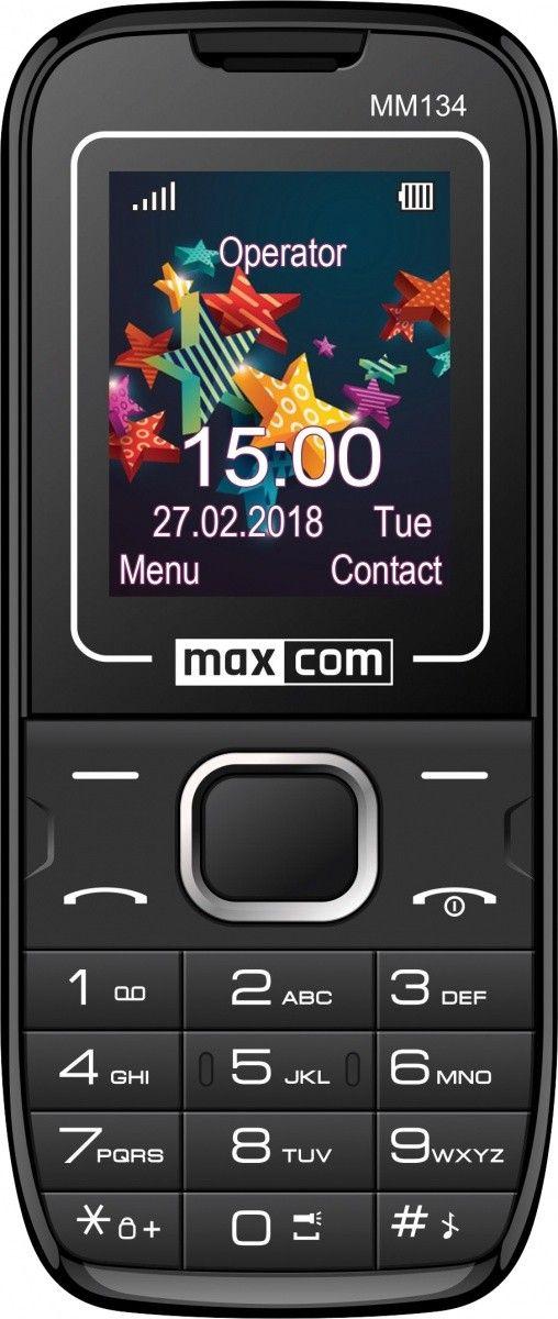Telefon komorkowy Maxcom MM 134 (MAXCOMMM134) MAXCOMMM134 Mobilais Telefons
