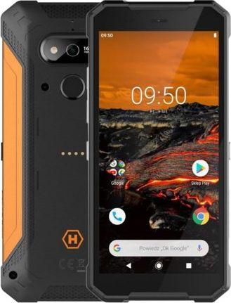 Smartfon myPhone Hammer Explorer 3/32GB Dual SIM Czarno-pomaranczowy  (Hammer Explorer) Hammer Explorer Mobilais Telefons