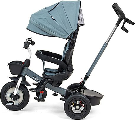 Milly Mally Movi Blue three-wheel bike bērnu ratiņi