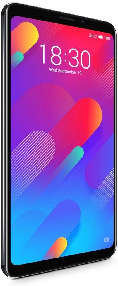 Smartfon Meizu M8 64 GB Dual SIM Czarny  (MEIZUM864GBBLACK) MEIZUM864GBBLACK Mobilais Telefons