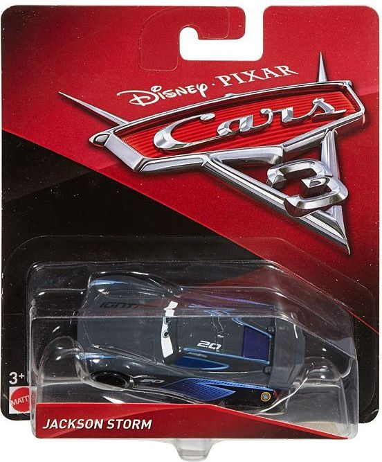 Mattel Cars 3 toy car Jackson Storm DXV34 Rotaļu auto un modeļi
