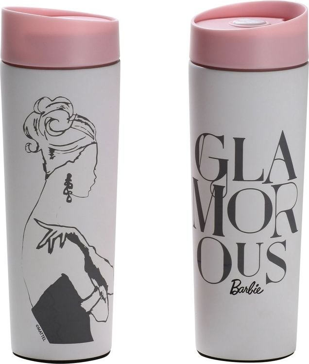 Dajar Barbie Glamorous Thermal Mug 400ml pink (DAJA0251) termoss